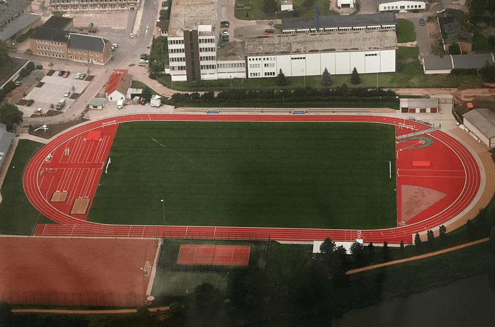 Stadion von oben